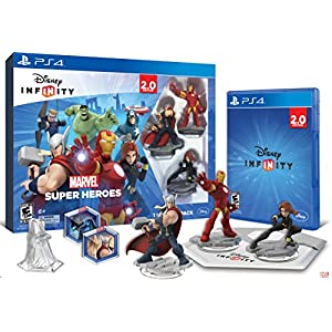 Disney INFINITY: Marvel Super Heroes (2.0 Edition) Video Game Starter Pack – PlayStation 4