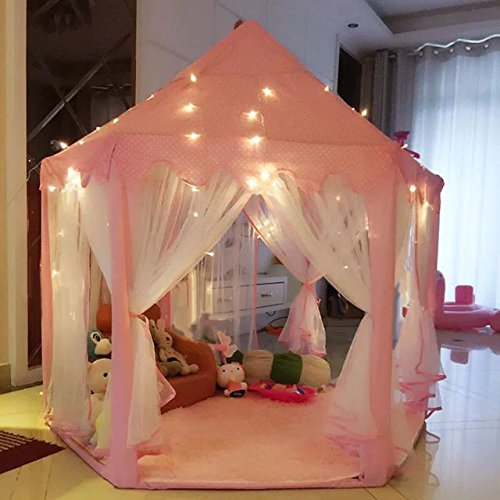 Intency Princess Castle Kids Play Tent Children Playhouse