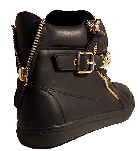 noir or 3 Boots Desert Femme Hohenlimburg W wzxzq0XUFW