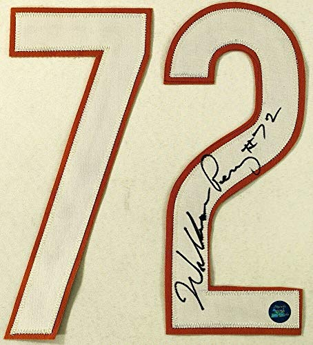 - William Perry Autographed Signed Memorabilia Bears Jersey Number Set Legends Coa - Certified Authentic