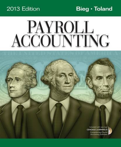 Payroll Accounting 2013 (Book Only)