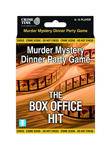 The Box Office Hit - Murder mystery gift box - downloadable game for 6,8,10 or 12 players by Crime Time