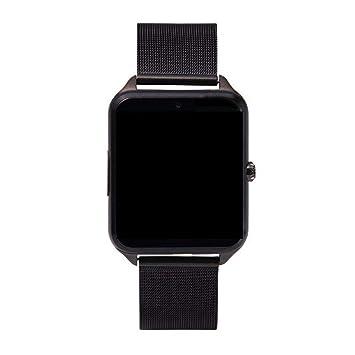 UTHDELD Smartwatch Smart Watch GT08 Plus Reloj de Metal con Ranura ...