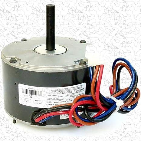 OEM Upgraded Emerson 1//3 HP 230v Condenser Fan Motor K55HXGDD-8119