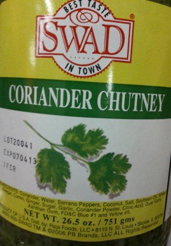 Swad Coriander Chutney 26.5 Oz