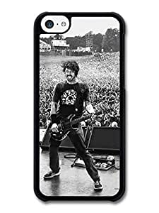 MMZ DIY PHONE CASEDave Grohl Foo Fighters Black and White Live Concert case for iphone 4/4s