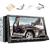 2 Din Car CD DVD Player Stereo Headunit Autoradio GPS Navigation Free 3G Internet Dongle 7 Inch Touchscreen Audio Video Radio FM/AM