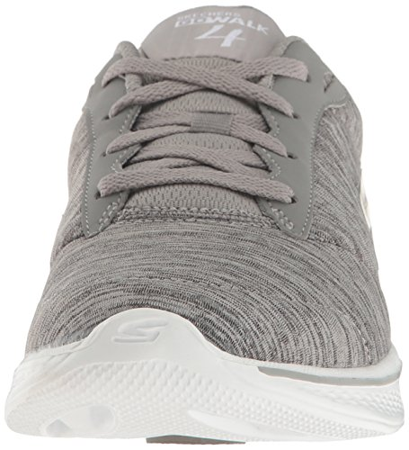 4 Gry Skechers Go Walk Femme Baskets Basses Gris RRpESq1