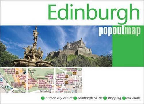 Edinburgh PopOut Map PopOut Maps PopOut Maps 9781845879792 – Edinburgh Tourist Map