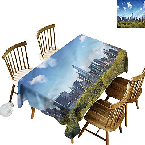 Tablecloth for Kids/Childrens City Central Park Midtown NYC Party Decorations Table Cover Cloth 60