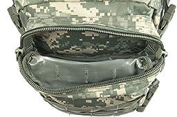 Mil-Tec Military Army Patrol Molle Assault Pack Tactical Combat Rucksack Backpack Bag 20L ACU Digital Camo