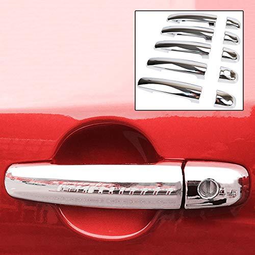 Exterior Parts Accessories 10Pc Fit For Suzuki Grand Vitara 2006-2015 Chrome Door Handle Catch Cover Trim Cap 2007 2008 2009 2010 2011 2012