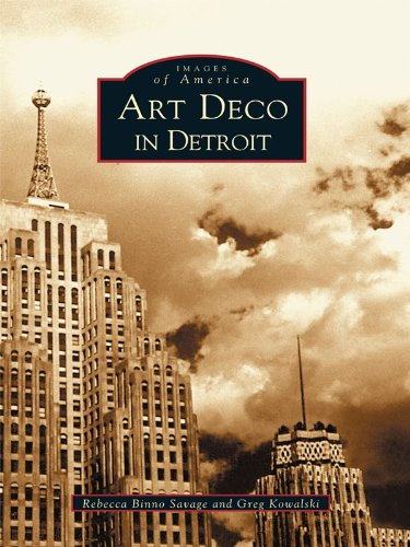 Art Deco in Detroit (Images of America)