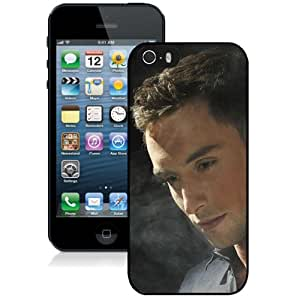Beautiful Designed Cover Case With Mans Zelmerlow Man Shirt Smoke Light For iPhone 5S Phone Case