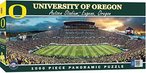 MasterPieces Collegiate Oregon Ducks 1000 Piece Stadium Panoramic Jigsaw -