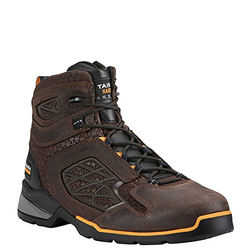 Ariat Work Men's Rebar Flex 6' Composite Toe Work Boot, Chocolate Brown, 13 D US
