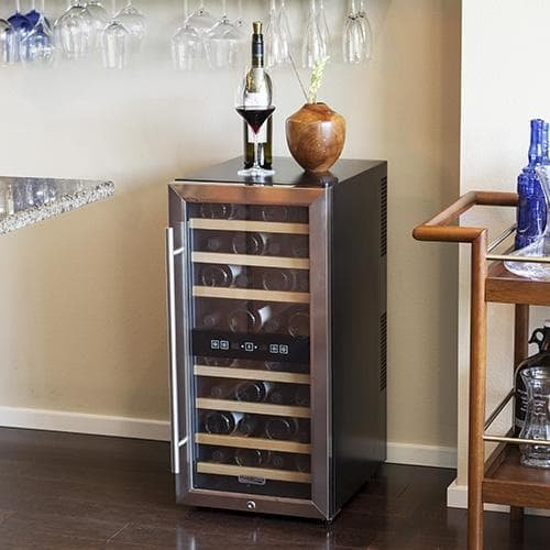Koldfront 32 Twr327ess Bottle Free Standing Dual Zone Wine