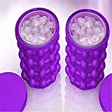 Appliances : Ice Cube Maker Genie Silicone Space Saving Ice Cube Maker The Revolutionary Space Saving Ice Cube Maker