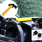 Glitteringstar T-shaped Universal Auto Car for SUV Truck Anti-Theft Security Rotary Steering Wheel Lock
