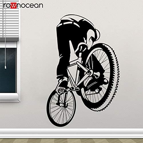 zhuziji BMX Dirt Bike Decal Style Pegatina de Pared de Bicicleta ...