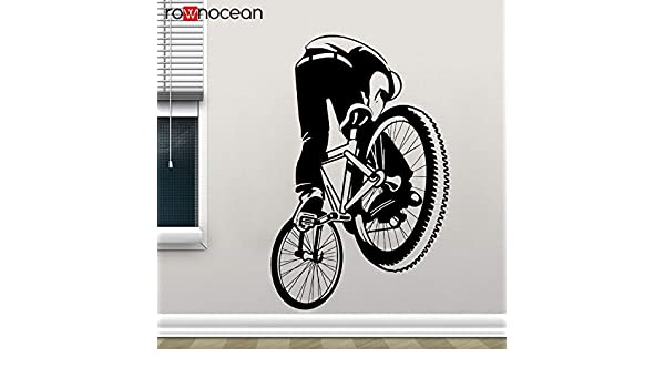 zhuziji BMX Dirt Bike Decal Style Pegatina de Pared de Bicicleta ...
