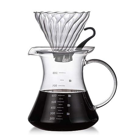 HUVE Filtro de café Filtro de café Cafetera Filtro Embudo Goteador ...