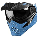 G.I. Sportz VForce Grill Paintball Mask / Thermal Goggles - Special Color - Azure (Grey on Blue)