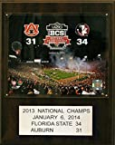 NCAA Florida State Seminoles Football 2011 BCS National Champions Plaque, 12 x 15-Inch