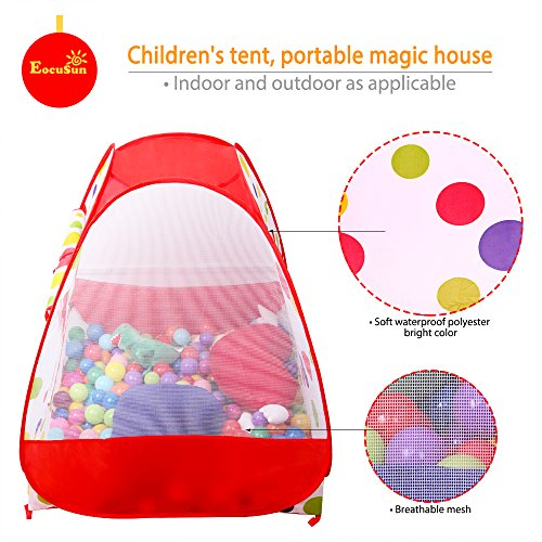 Eocusun Children Kids Play Tent Tents House Pop Up Outdoor