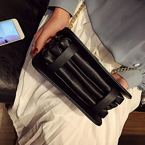 À Sacs Messenger la En Femmes Sac Sacs mode Cuir De Dames À Mode Chaîne Main La Fête Design À À Unique Métal Mariage Bandoulière P8dBAx