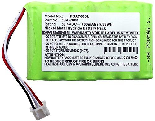 subtel/® Batteria Premium Compatibile con Brother P-Touch 7600VP BA-7000 sostituto BA7000 Batteria di Ricambio 700mAh Brother PT 7600VP accu Sostituzione