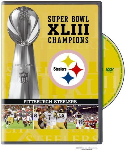 NFL Super Bowl XLIII: Pittsburgh Steelers Champions DVD by Vivendi Entertainment