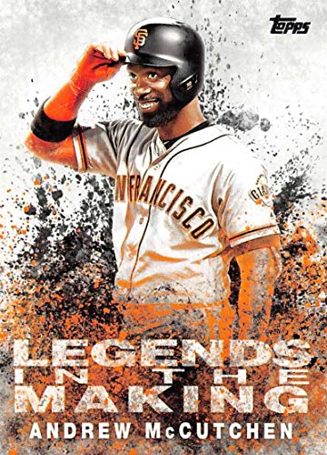 2018 Topps Update and Highlights Baseball Series Legends in the Making #LITM-20 Andrew McCutchen San Francisco Giants Official MLB Trading Card