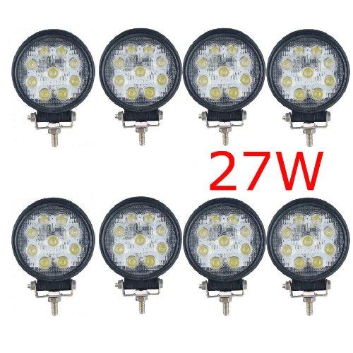 175 opinioni per MIRACLE 27W FARO DA LAVORO LUCE DI PROFONDITA' A LED 27W , 12V 24V LED Lampada