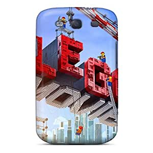 High Quality Cell-phone Hard Cover For Samsung Galaxy S3 (iQT16777xadV) Provide Private Custom Colorful The Lego Movie Image