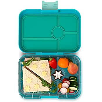YUMBOX TAPAS Larger Size (Antibes Blue) 4 compartment Leakproof Bento lunch box for Pre-teens, Teens & Adults