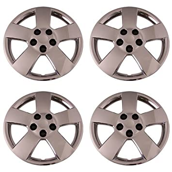 Set of 4 Chrome 16 Inch Chevy Cruze & HHR Hubcaps w/ Bolt On Retention System - Aftermarket : IWC459/16C: Amazon.co.uk: Car & Motorbike