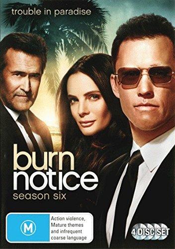 Burn Notice Season 6 | 4 Discs | NON-USA Format | PAL | Region 4 Import - Australia -  DVD
