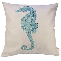 HOSL Ocean Park Theme Decorative Pillow Cover Case D 18\