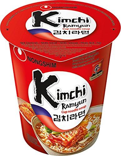2 opinioni per Nong Shim Kimchi Ramyun Noodle Soup- 12 tazze