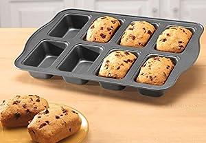 Miles Kimball Silver Mini Loaf Pan