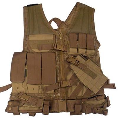 VISM by NcStar Tactical Vest, Tan, XX-Large (CTVL2916T)