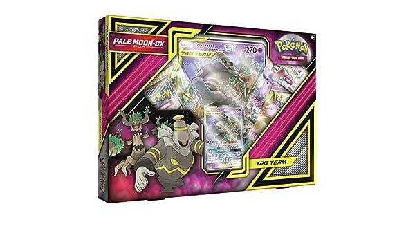 Pokémon POK80475 TCG: Caja de Luna pálida-GX, Colores ...