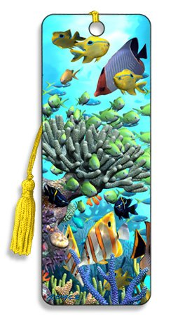Artgame - Coral Garden - 3D Bookmark from Artgame