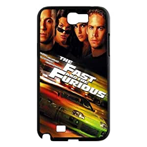 Clzpg Custom Samsung Galaxy Note2 N7100 Case - fast and furious 7 phone case