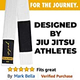 Gold BJJ Jiu Jitsu Belt - Premium Heavyweight Belts