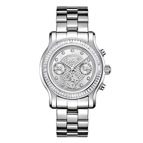 JBW Womens Laurel J6330B Multi Function Diamond Watch