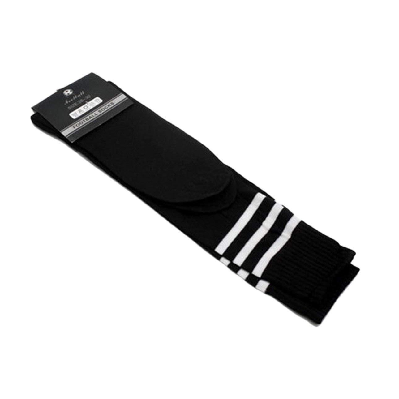Pudincoco Transpirable el/ástico Antideslizante Calcetines de f/útbol para Adultos f/útbol Deportes Correr Medias Hombres Deporte Calcetines al Aire Libre