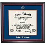 Auburn Tigers Diploma Frame Blue Orange Matting Embossed Seal