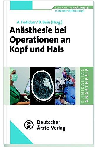 Anästhesie bei Operationen an Kopf und Hals